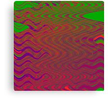 TIME AND SPACE DESOLVING IN THE ELEVENTH UNIVERSE Canvas Print