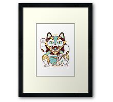 Dumb Luck Framed Print