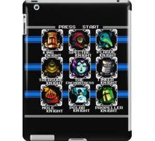 Megaman 2 - Shovel Knight boss select screen iPad Case/Skin