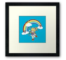 rainbow brite Framed Print