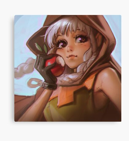 Dragon's Crown Elf Canvas Print