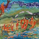 Woodland Streams and Dreams  by ArtPearl
