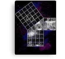 Pythagoras Abstract Design Canvas Print