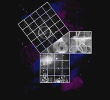 Pythagoras Abstract Design Long Sleeve T-Shirt