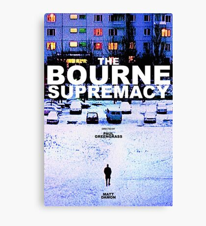 THE BOURNE SUPREMACY 3 Canvas Print