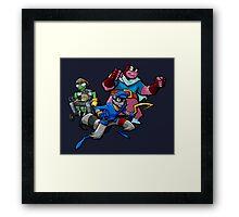 Sly and Gang! Framed Print
