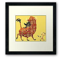 Hakuna Matata Framed Print