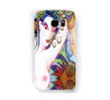 #*nUDE lADY tIME tRAVELLING#* Samsung Galaxy Case/Skin