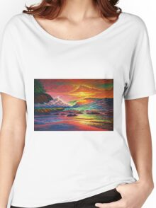 Exploding Fireworks Women's Relaxed Fit T-Shirt