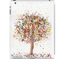 Exploding Fall Tree iPad Case/Skin