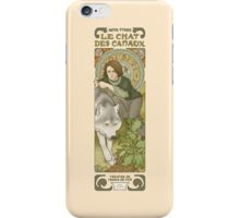 The cat of the canals iPhone Case/Skin