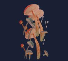 lost in mushrooms Baby Tee