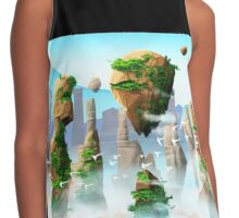 Floating Mountains Contrast Tank