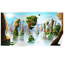 Floating Mountains Poster