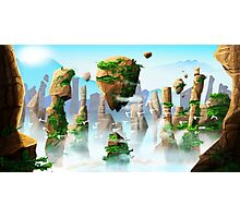 Floating Mountains Photographic Print