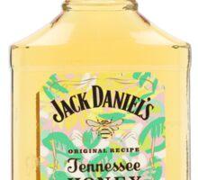 Jack Daniel's Tennessee Honey Whiskey Lilly Pulitzer Print Sticker