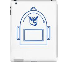Pokemon Go backpack- Team Mystic iPad Case/Skin