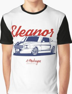 Mustang Shelby GT500 Eleanor Graphic T-Shirt