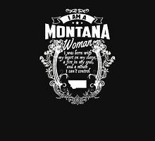 I AM A MONTANA WOMAN Women's Relaxed Fit T-Shirt