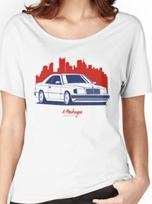 Mercedes Benz W124 Coupe Women's Relaxed Fit T-Shirt