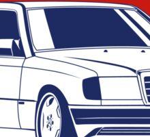 Mercedes Benz W124 Coupe Sticker