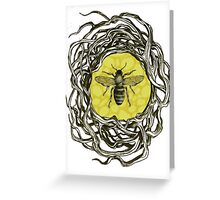 Bee Frame Greeting Card