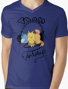 Team Friendship Mens V-Neck T-Shirt