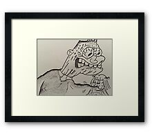 Attack of the Cabbage Patch Framed Print