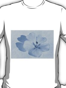 Linen Watercolour Cyanotype T-Shirt