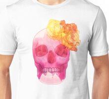 Skull with Roses Unisex T-Shirt