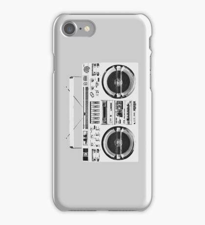 Ghetto Blaster iPhone Case/Skin