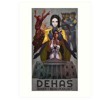 Dehas poster Art Print