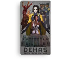 Dehas poster Canvas Print