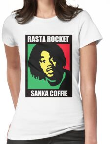 Sanka Coffie Womens Fitted T-Shirt