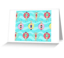 Relax Baby. U R Hot. Greeting Card