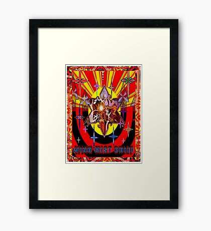 ***Star power** Framed Print