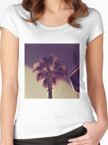 California Palm Cinema K1 Women's Fitted Scoop T-Shirt