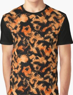 Abstraction. Watercolor scribbles and smears. Graphic T-Shirt