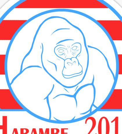 Harambe 2016 Sticker