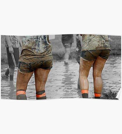 Women in Mud Posters  Redbubble