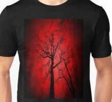 The world slowly decays..Destruction fills my eyes..Harboring the image of a spiraling demise..Shades of death are all I see...Skeletons of Society Unisex T-Shirt
