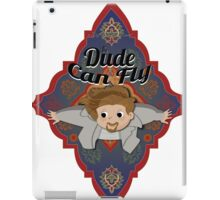 The Dude Can Fly iPad Case/Skin