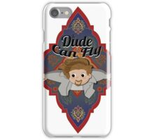 The Dude Can Fly iPhone Case/Skin