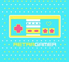 Retra Gamer - NES Controller by mrbrownjeremy