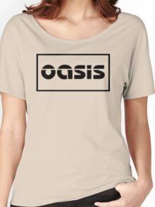 Oasis Logo Women's Relaxed Fit T-Shirt