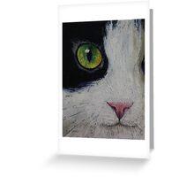 Japanese Bobtail Cat Greeting Card