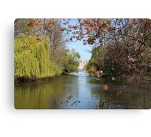 St James Park Lake Canvas Print