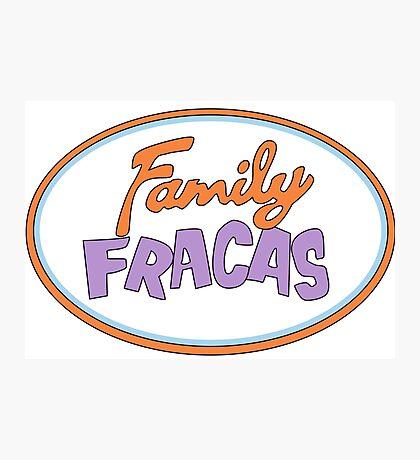 Family Fracas Photographic Print