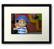 The Little Pirate Captain Framed Print