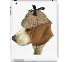 Sherlock Hound iPad Case/Skin